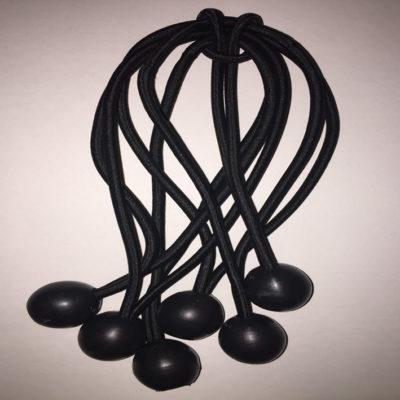Extra set of Bungees (6) for Rick-O-Shay Hockey Goalie Training Equipment
